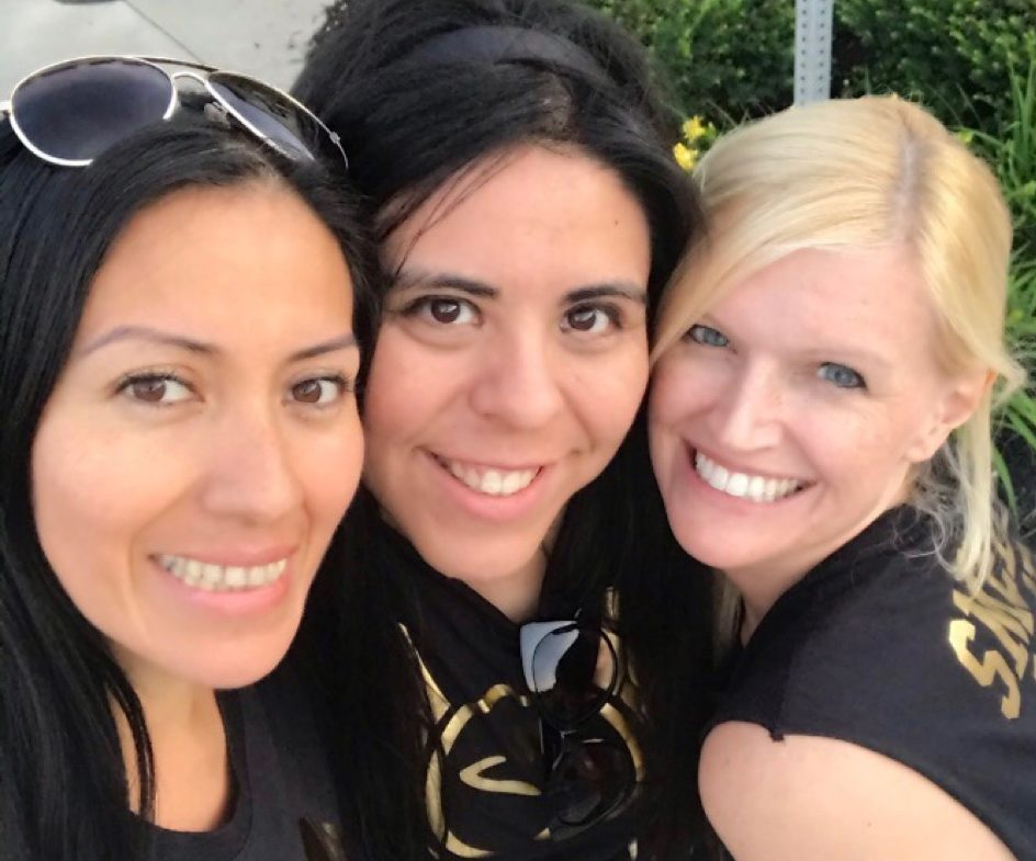 belen, maria, and holly muzketeers